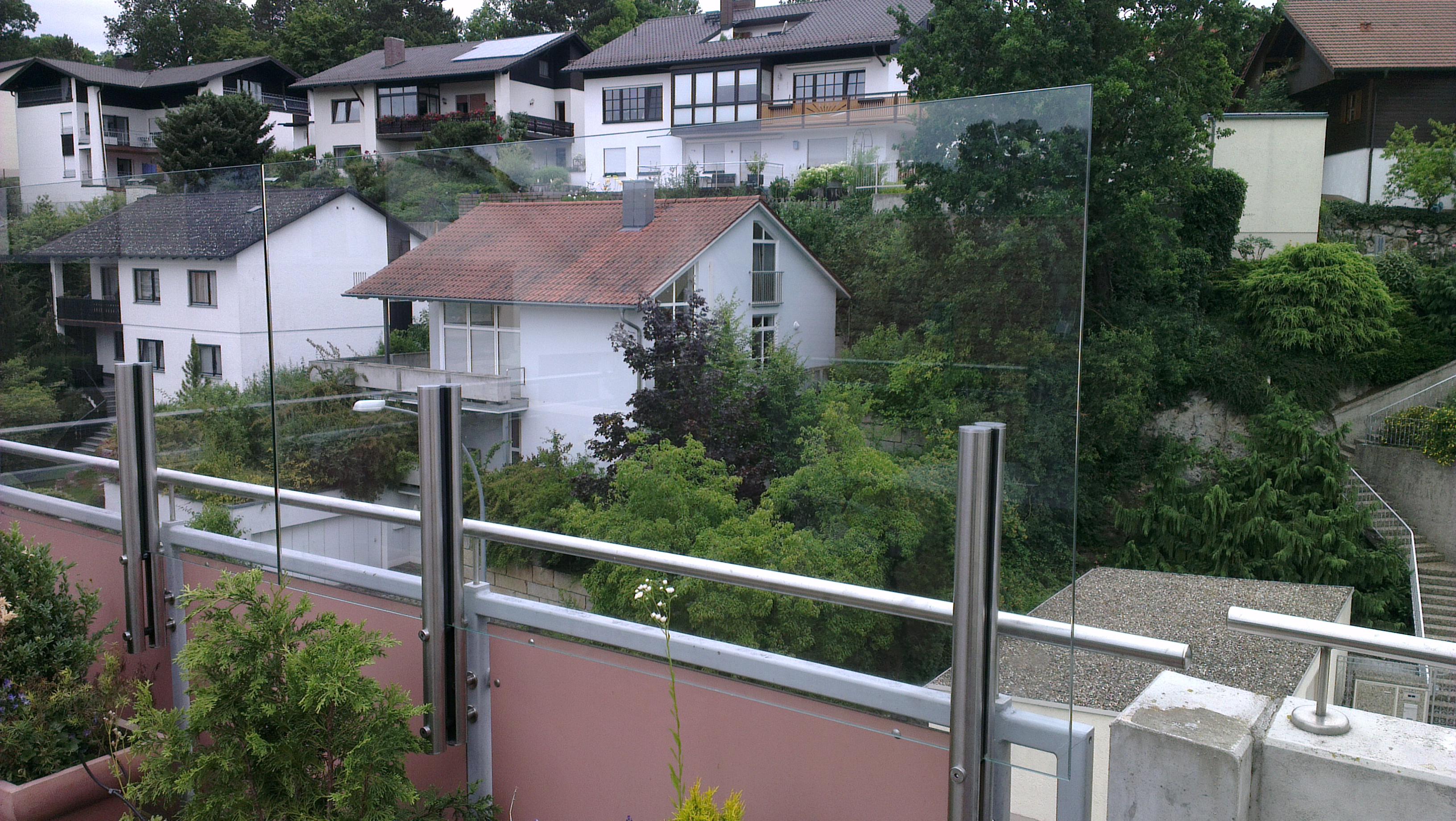 Balkon Und Terrassenverglasungen Glaserei Oswald
